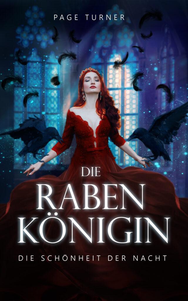 Cover Design, Premade Cover, Rabe, Königin, Fantasy