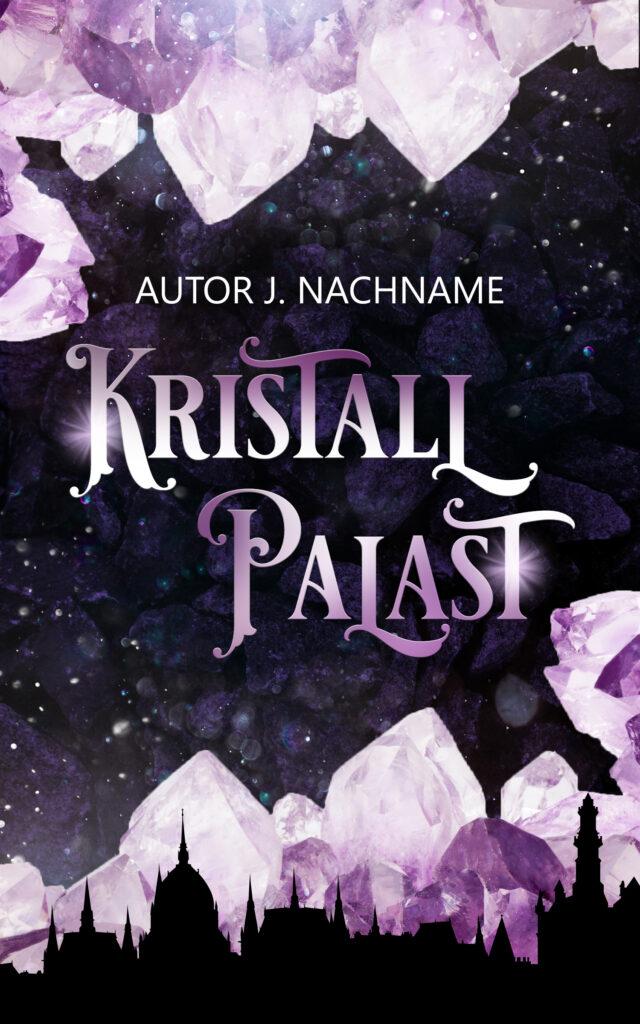 Premade Cover, Fantasy, Buchcover Design, Kristall