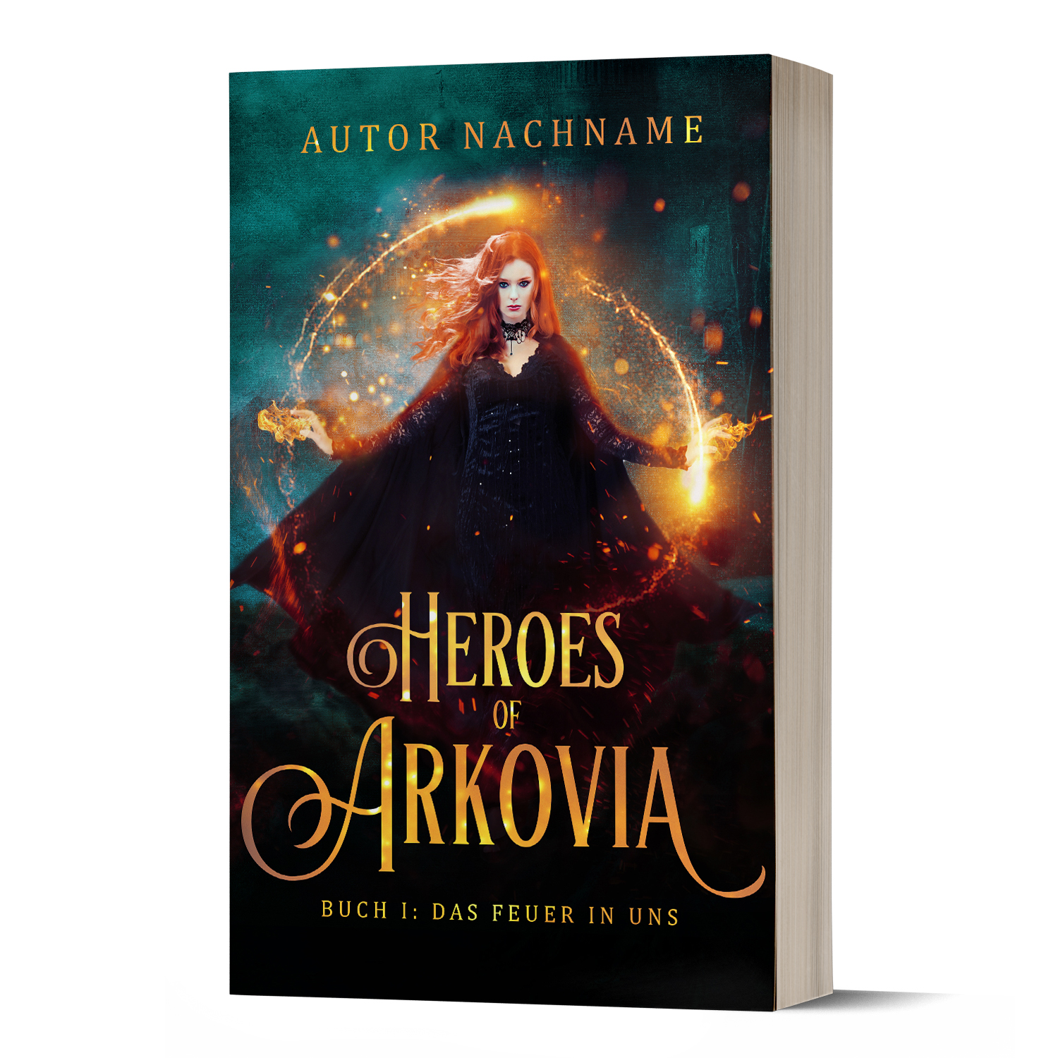Heroes of Arkovia Premade Cover
