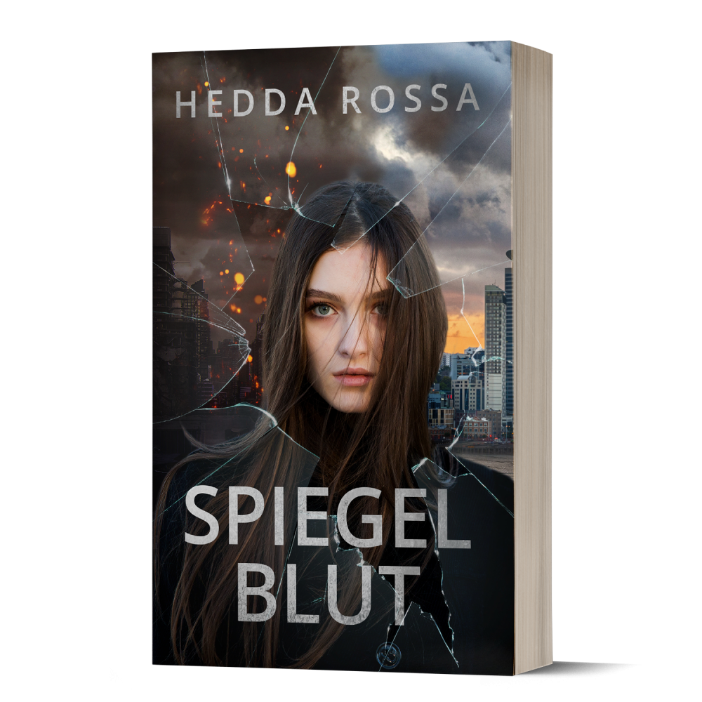 Cover, Spiegelblut, Hedda Rossa